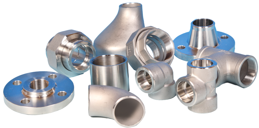 Stainless Steel Pipeline Fittings and Flanges