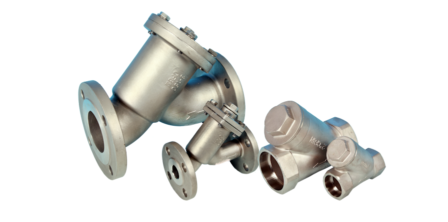 stainless steel strainers valves