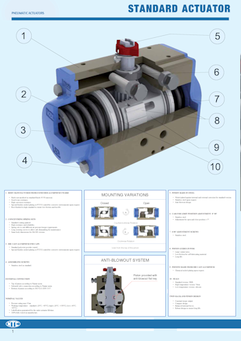 PDF for Valbia Pneumatic Actuators