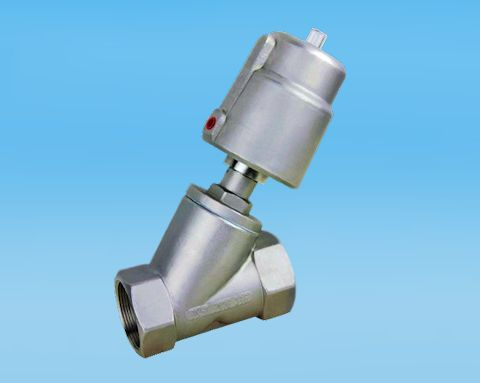 stainless steel 2 Way Stainless Steel Direct Acting Angle Seat Valve