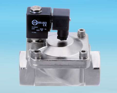 stainless steel 2 Way Stainless Steel Servo Assisted Solenoid Valve