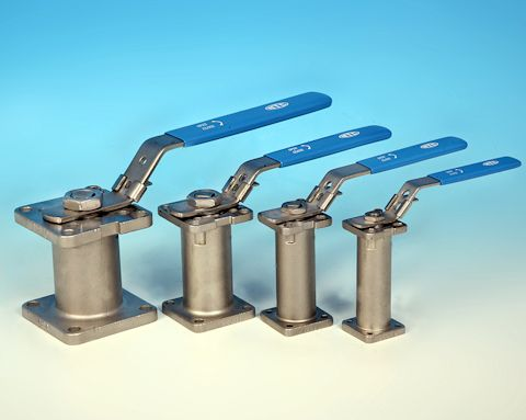 stainless steel 100mm High Valve Spindle Extension Bonnet