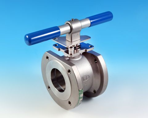 stainless Wafer Pattern Flanged ANSI 150 Ball Valve